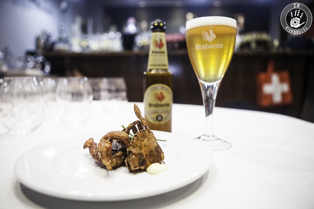 Maridaje Casa Ivan cerveza Brabante