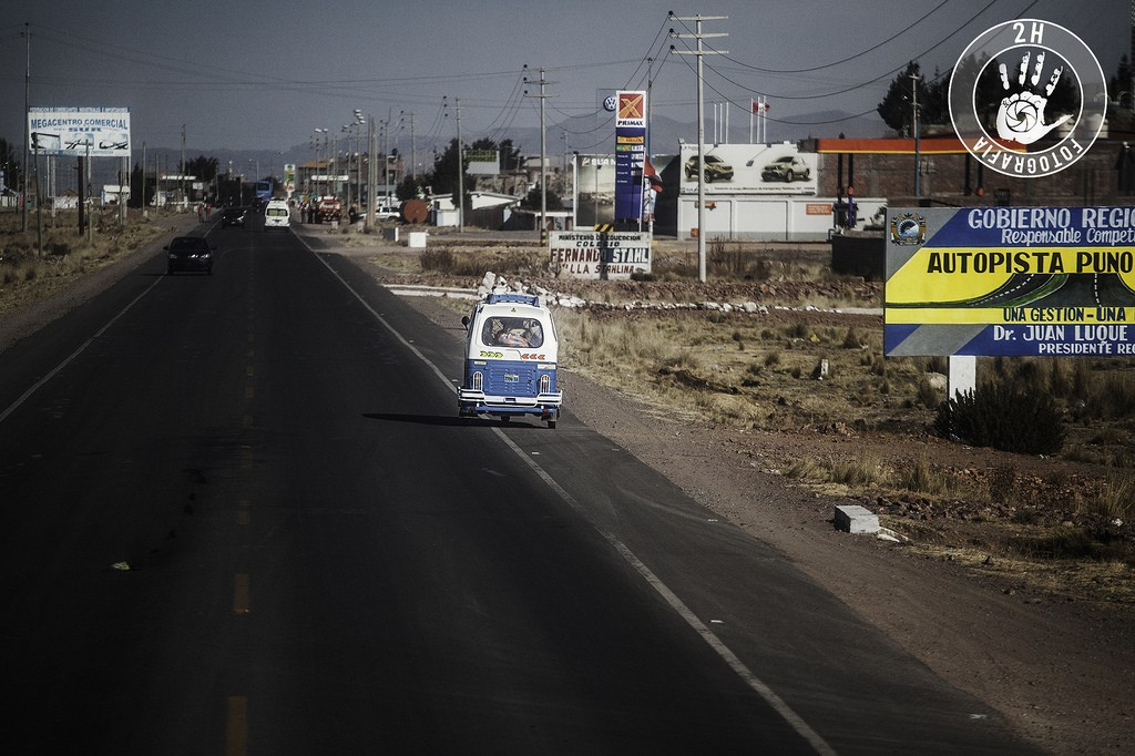 Mototaxi en Puno