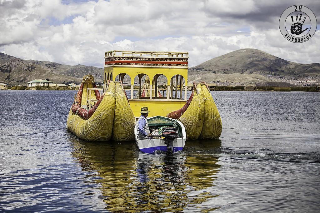 Barca de Totora