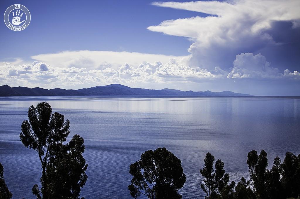 Vistas del Lago desde Amantaní