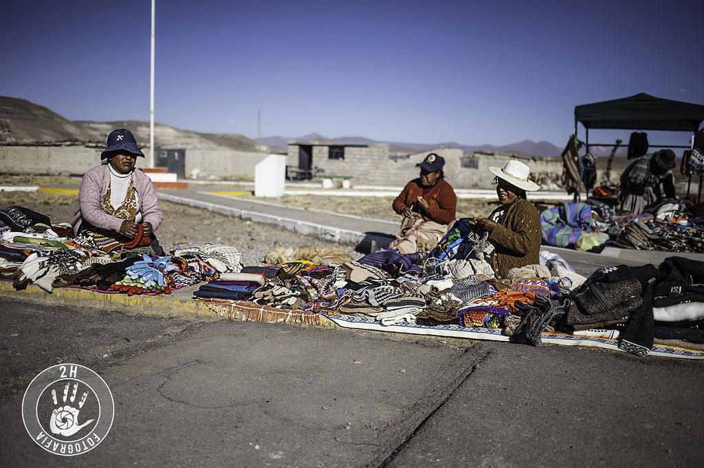 Vendedoras en el Cañón del Colca